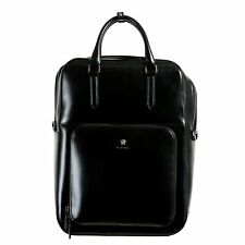 Versace 100% Leather Unisex Women's Backpack