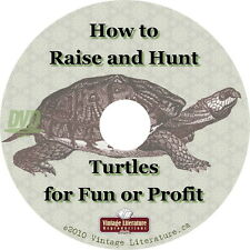 How to Raise and Hunt Turtles for Profit or Sport { Vintage Books } on DVD