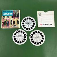 Vintage 1968 Laugh-In Rowan Martin Goldie Hawn View-Master Reels Set Gaf B497