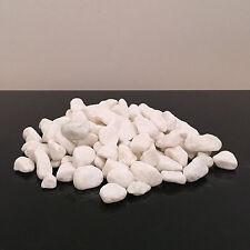 1kg nouveau blanc naturel pierres décoratives cailloux aquarium décoration vase de jardin