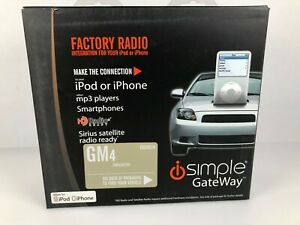 iSimple ISGM574 Cadillac STS 2006-2011 iPod iPhone Aux Input