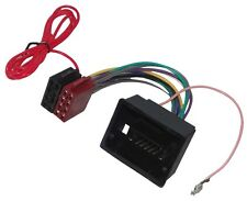 Adaptateur faisceau câble fiche ISO pour autoradio compatible Opel Agila Astra J