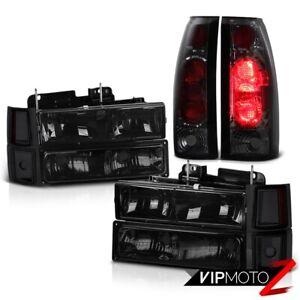 Chevy C10 C1500 C2500 K1500 K2500 Smoke Rear Brake Lamp Front Corner Headlights