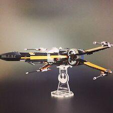 Présentoir pour Lego Star Wars: Poe's x-wing Fighter (75102)