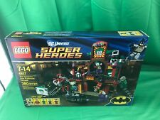 LEGO SUPER HEROES 6857 Dynamic Duo Funhouse Escape Batman Robin Joker NEW SEALED