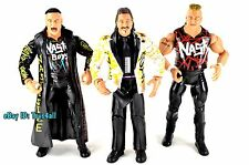 Nasty Boys Saggs Knobbs Jimmy Hart 3-Pack WWE CLASSIC SUPERSTARS FIGURE LOT- s33