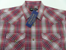 PENDLETON FRONTIER Snap Western Pearl Snap S/S Shirt M Medium NWT #CO33