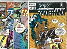 Web of Spider-Man #12, #16, #17, #18, #19 & #23     Lot of 6 (1986-1987, Marvel)