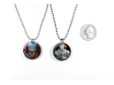 It Pennywise Bill Skarsgård 2017 Stephen King 2 Sided Necklace