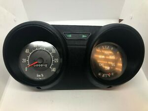 Toyota Hilux early 70's Instrument Cluster Speedometer Genuine NOS