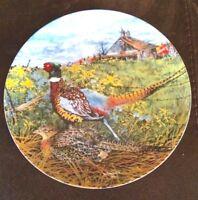 """Vintage 1986""""The Pheasant"""" Porcelain Plate 8.5"""""""