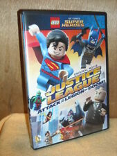 LEGO Justice League Attack of the Legion of Doom (DVD, 2015) Dee Bradley Baker