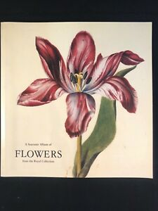 A Souvenir Album of Flowers from the Royal Collection, 1990.  VGC