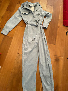 In The Style Pin Cord Boiler Jumpsuit Size 6 New With Tag G2