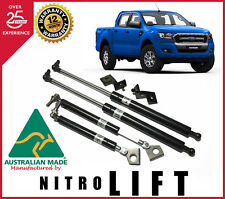 NITRO LIFT BONNET & TAIL GATE STRUT KITS COMBO Ford PX Ranger MK1-MK2 2012-2018