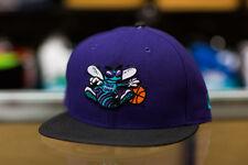 New Era Charlotte Hornets Purple Snapback Hat