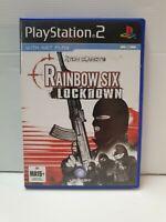 PS2 Tom Clancy's Rainbow Six Lockdown Inc Manual