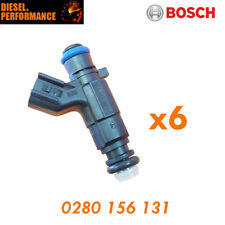 FUEL INJECTORS SUIT 04- 08 COMMODORE VZ 3.6 V6  GENUINE BOSCH 0280 156 131