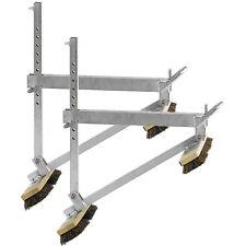 2x Müba Aluminium-Besengerüst, Dachdeckergerüst Dachständer Dachgerüst Dachbock