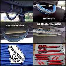 Jeep Wrangler JK/JKU DELUXE Custom Paracoard Grab Handle Set