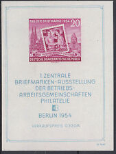 DDR Block 10 dezentriert geschnitten postfrisch (K-1789)