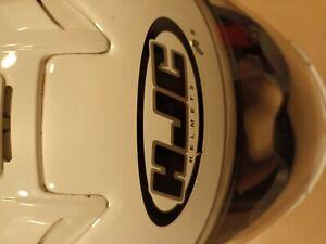HJC SY-MAX FLIP UP FRONT, MODULAR MOTORCYCLE CRASH HELMET WHITE XS