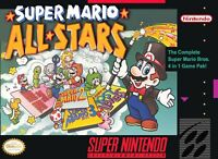 🔥 Super Mario All-Stars Super Nintendo SNES  Disk Only