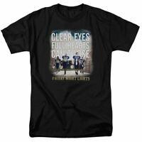 Friday Night Lights Motivated Logo T Shirt Mens Licensed Classic TV Show Black