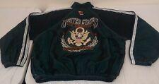 Vintage 1980s SURF STYLE Jacket Coat Windbreaker United States Proud Free OSTA