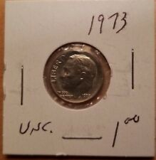 1973 Roosevelt US Dime in UNCIRCULATED (UNC) Condition