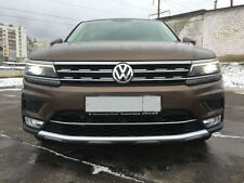 Front Pad for Bumper Protect Covers for Volkswagen Tiguan II 2017-2018