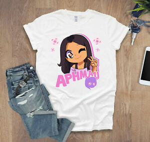 Aphmau Kids T Shirt Youtuber Merch Gaming Gamer Boys Tee Funny Youtubers Gift