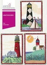 Lighthouses Anita Goodesign Embroidery Machine Design CD 49AGHD