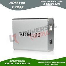 BDM100 PROGRAMMATORE BANCO CENTRALINE RIMAPPATURA BDM EDC16 FAP DPF EGR + OMAGGI