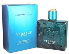 Versace Eros By Versace 3.4oz/100ml Edt Spray For Men New In Box