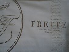 NEW FRETTE  CLESSIDRA PIZZO LACE IVORY KING DUVET COVER