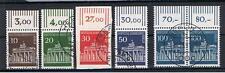Berlin Mi.-Nr. 286-290 BBT Satz OR Paar gestempelt