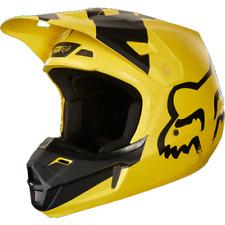 2018 Fox V2 Mastar Motocross Helmet - Yellow, Small BNIB SALE