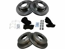 For 2007-2017 Toyota Tundra Brake Pad and Rotor Kit Front and Rear 15647PC 2008