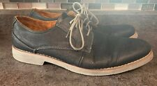 Steve Madden Size 12 Trill Oxford Black Gray Textured Contrast