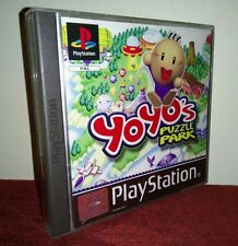 🐒Yoyo's Puzzle Park -  PS1 COMPLET PAL (FR) COMME NEUF RARE&TOP IREM🐒™️