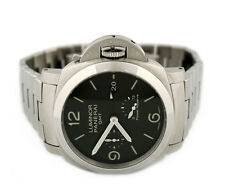 OFFICINE PANERAI LUMINOR 1950 3 DAYS GMT POWER RESERVE PAM00347 MENS WATCH
