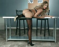 August Ames Adult  Star Unsigned Photo #138 Brazzers Penthouse  Deceased Model