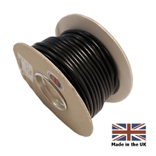 10 METERS BLACK  6mm - 50 AMP THIN WALL AUTO CABLE WIRE FOR CAMPERVAN MOTORHOME