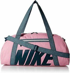 Nike NWT Gym Club 30L Training Duffel Bag Psychic Pink One Size BA5490-610