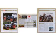 EICHER Traktor Schlepper Mammut 2 Allrad 1962 Weltbild