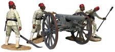 BRITAINS SUDAN WAR 27078 EGYPTIAN KRUPP GUN ARTILLERY SET MIB