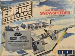 MPC Star Wars Empire Strikes Back Luke Skywalkers Snowspeeder Model Kit