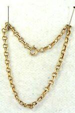 VINTAGE 1920'S 10K GOLD CHARM BRACELET