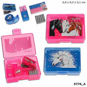 Miss Melody Mini Schreibtisch Set in kleiner Box Depesche 5776 Pferde